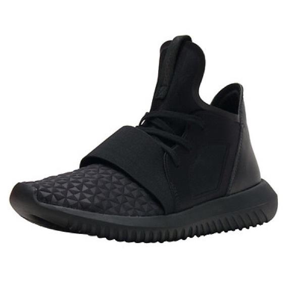 sports shoes 89ee4 20f01 spain adidas tubular defiant all black 4de5b 0c363